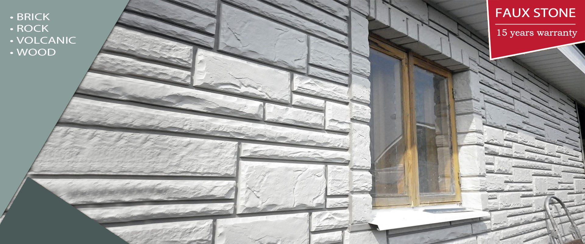 Chinese Plastic Faux Stone Siding