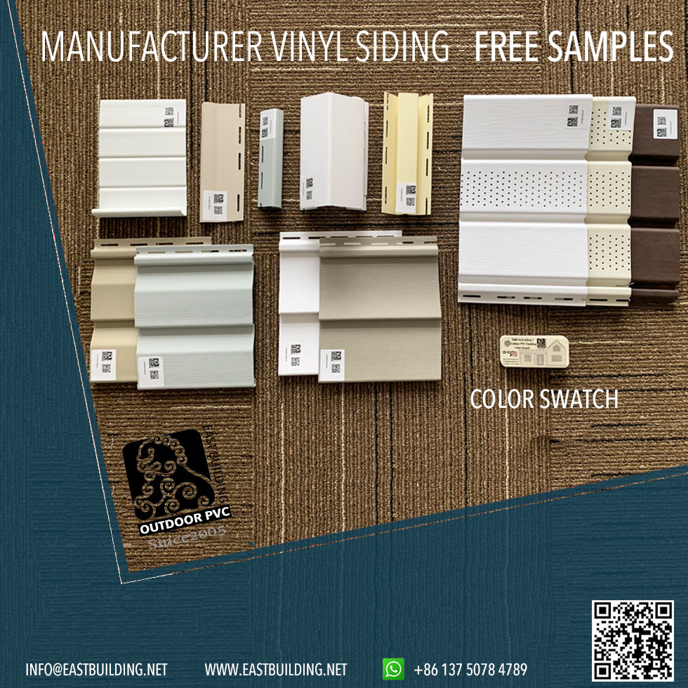 Vinyl Siding And Swatch Samples