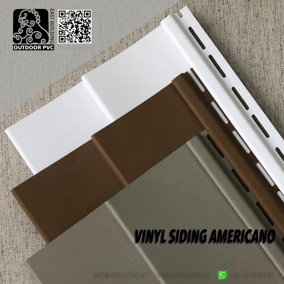 Americano Vinyl Siding Chile Colors