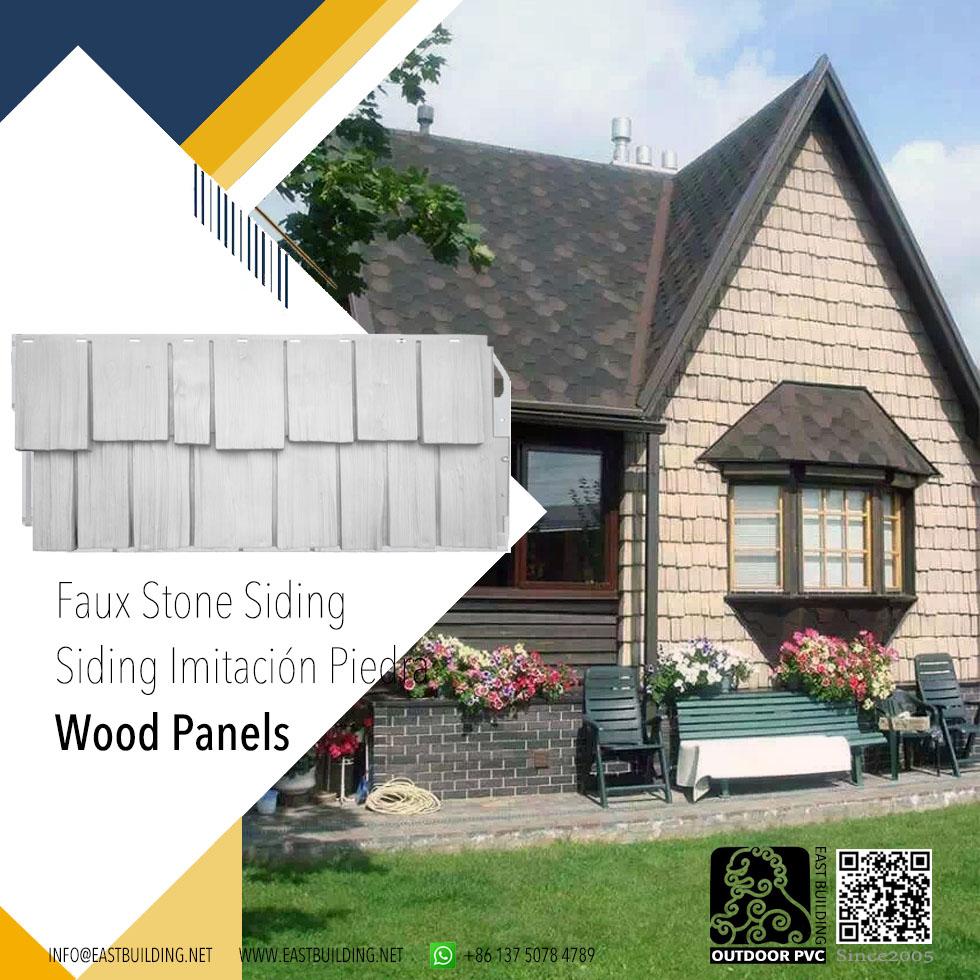 Vinyl Faux Stone Siding