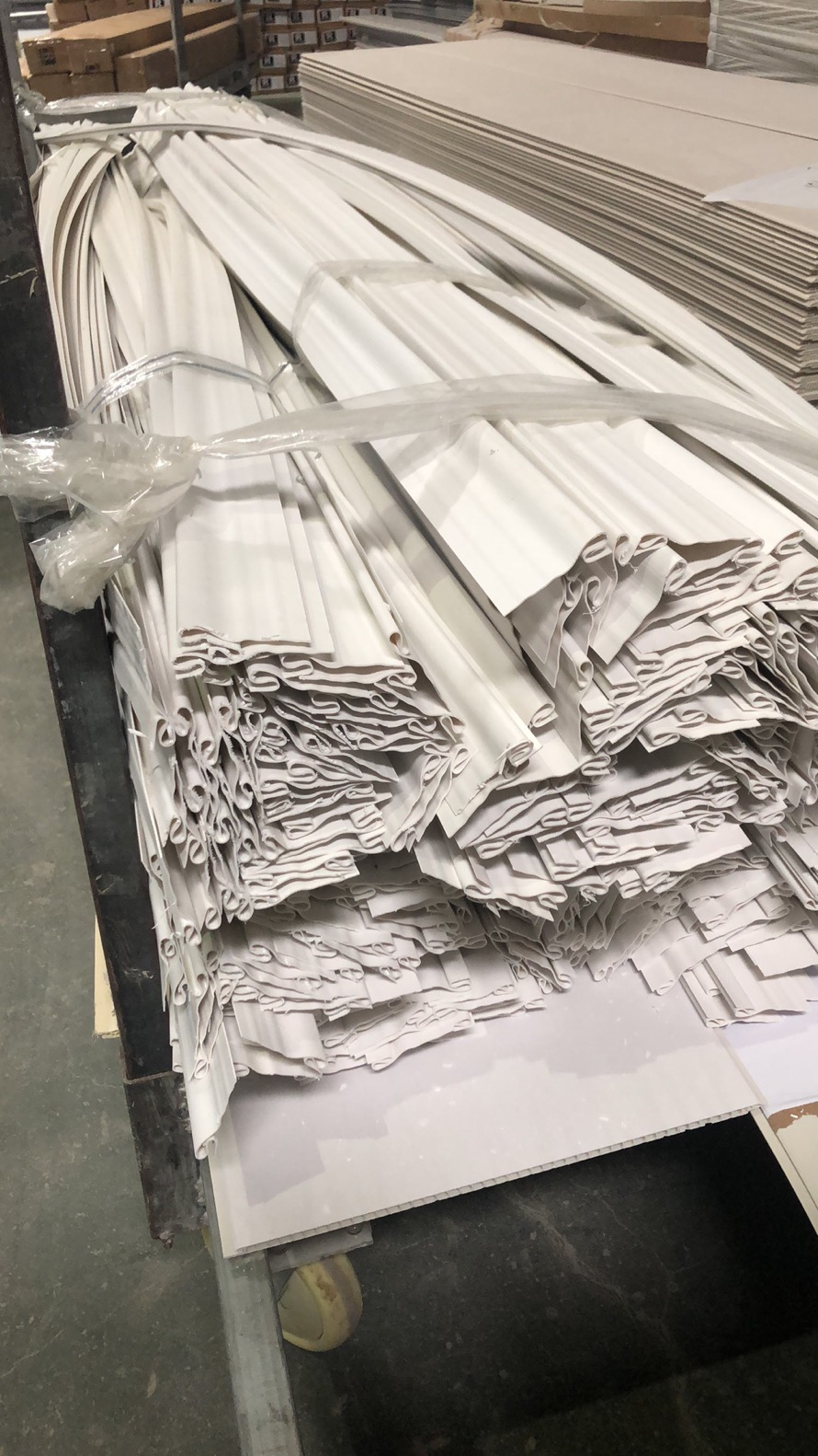 There are Vinyl Siding Accessories, Profiles, Trims, Corners, Panels and Production Lines