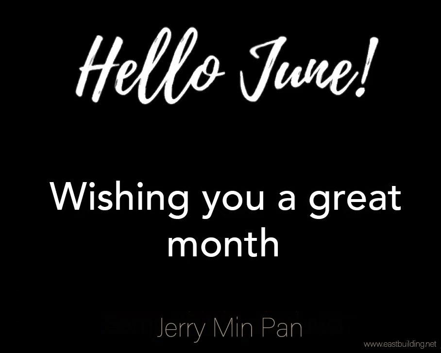 Hello June !!!