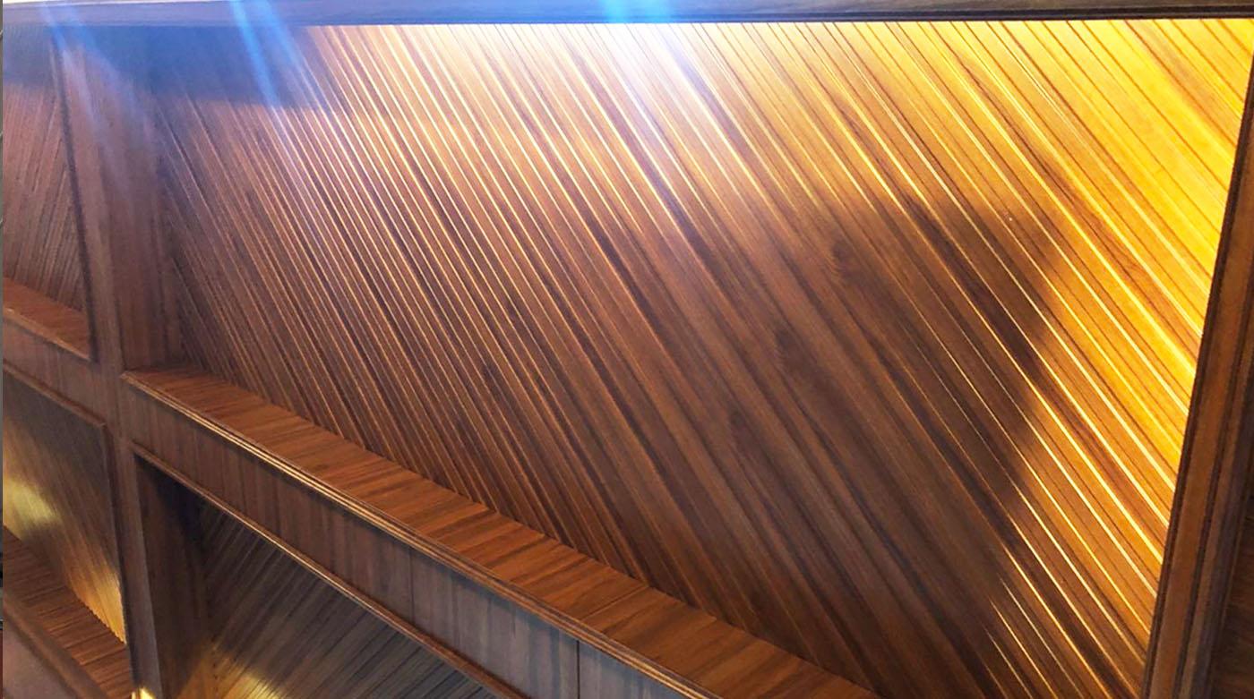 PVC 20cm Wide Grating S Panels