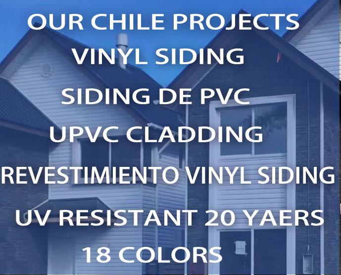 Siding de PVC in Chile