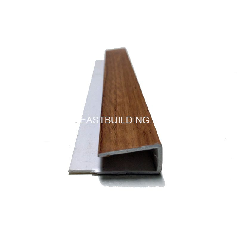 PVC Wood Grain End Cap
