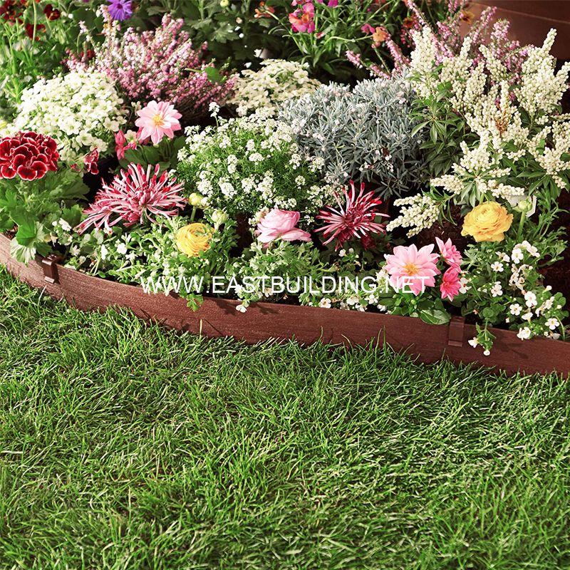 Sun UV resistant garden edging