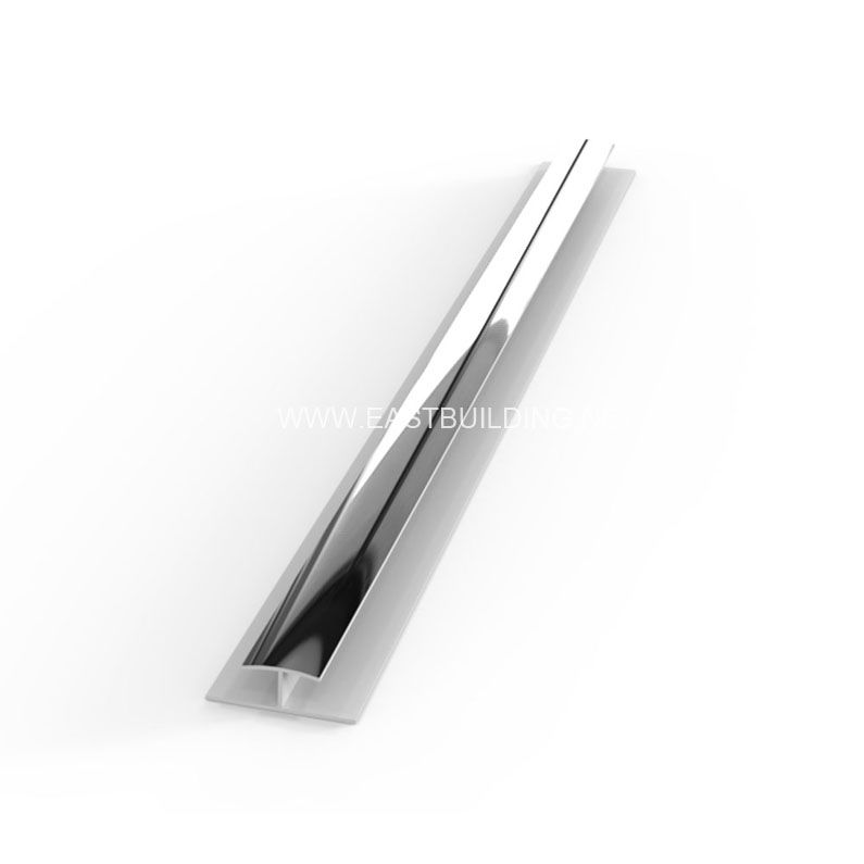 PVC Chrome H Section