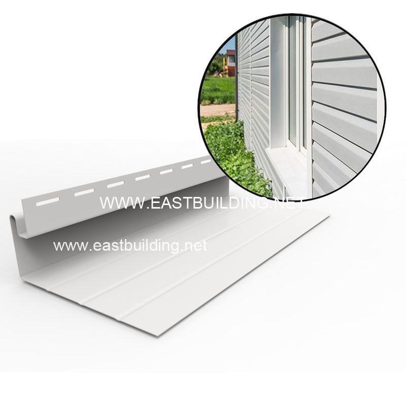 PVC Siding Wide window trim
