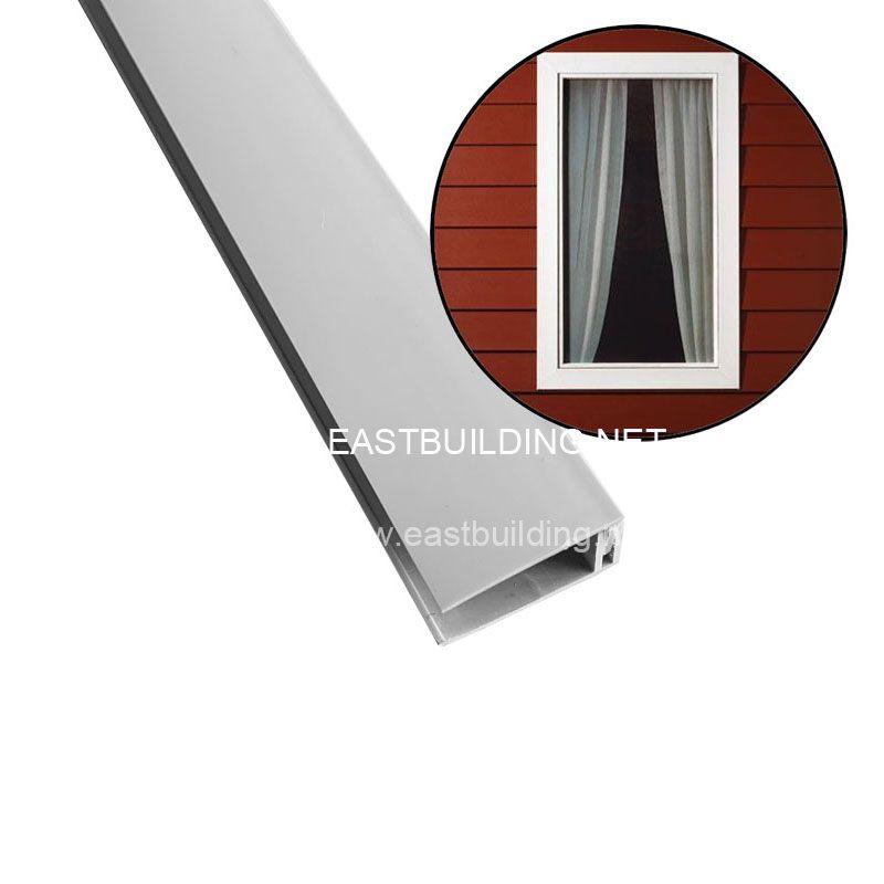 PVC trims for foam boards