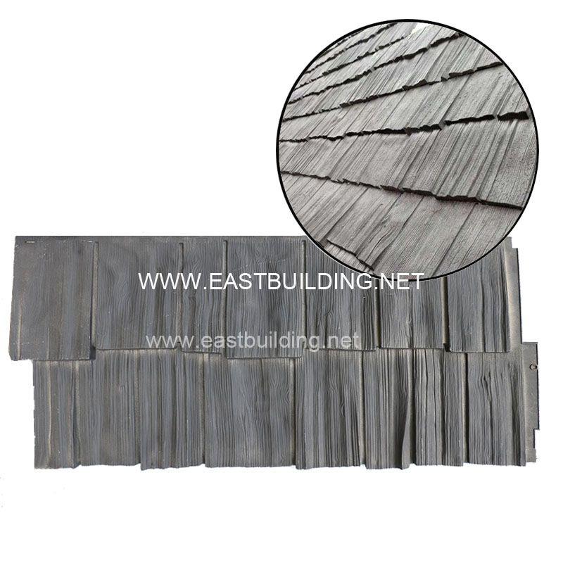 PVC wood look cladding