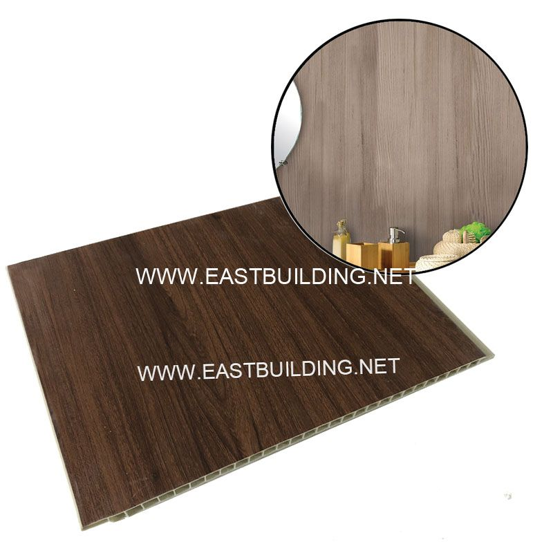 PVC bamboo composite panel