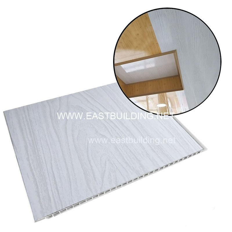 PVC Ceiling Cladding White