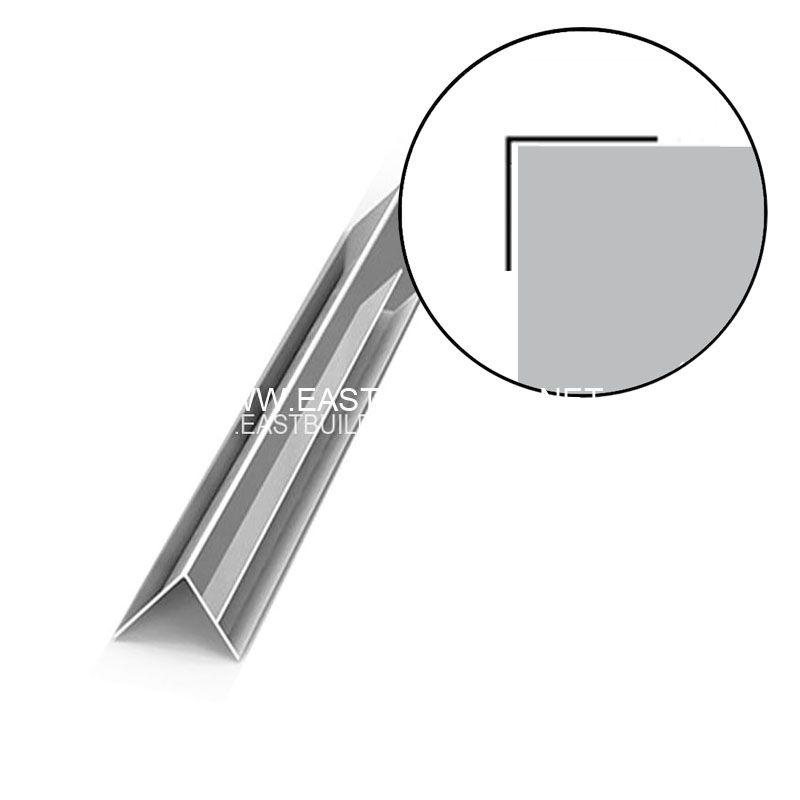 L corner Chrome color