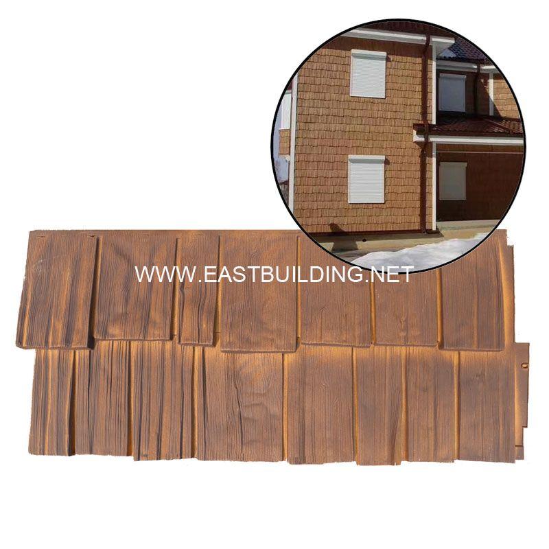 Faux Stone Siding Cedar