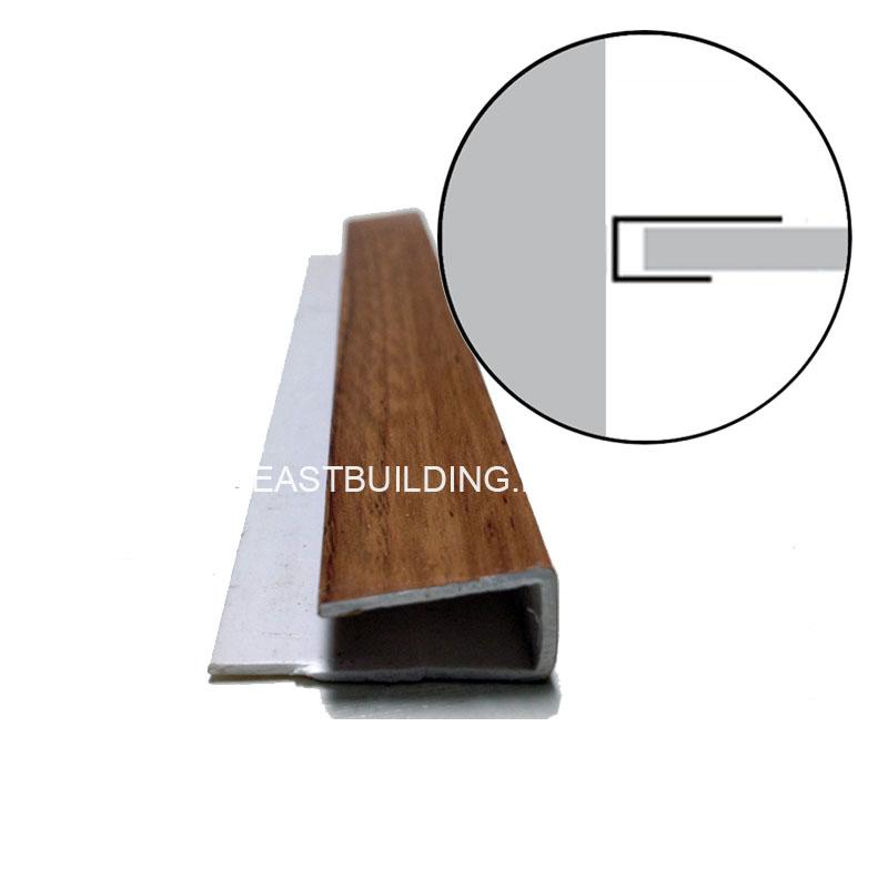 pvc h shape connecting trim