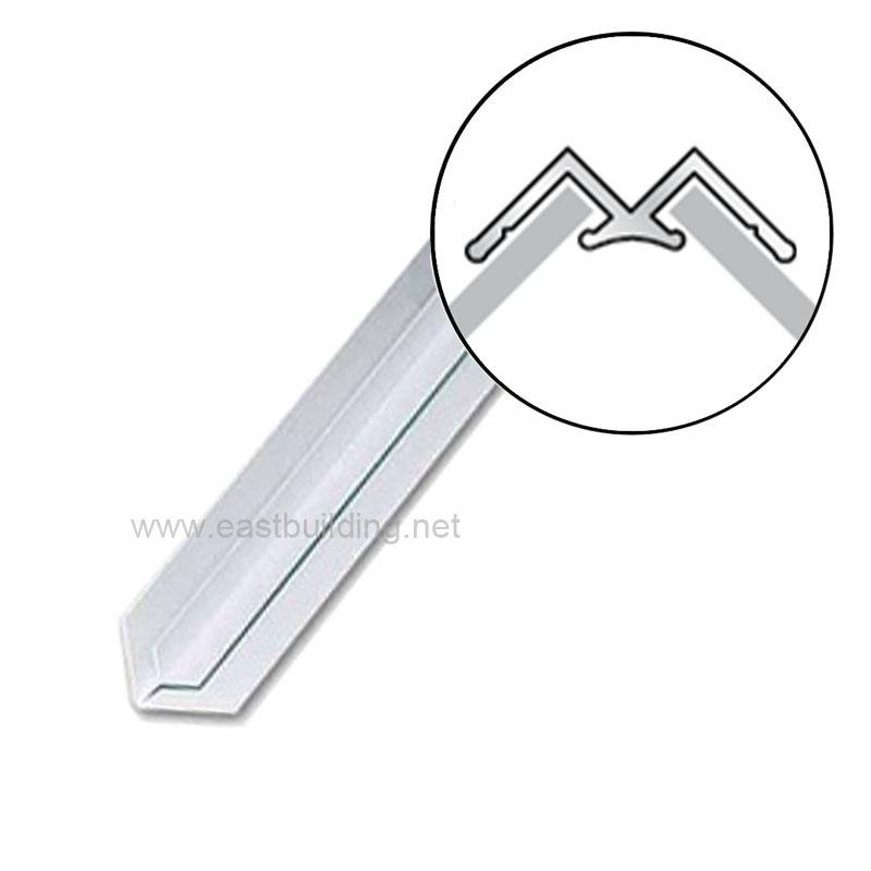 PVC White and Single Color Corner Trim Accessory