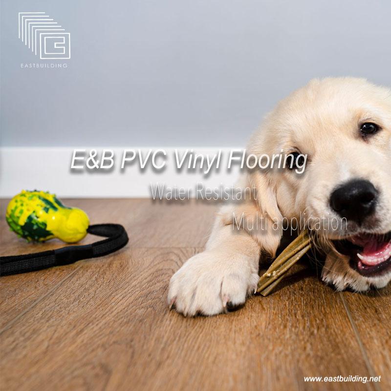 E&B PVC Vinyl Flooring is Coming