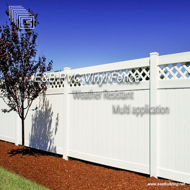 E&B PVC Fence is Coming soon !